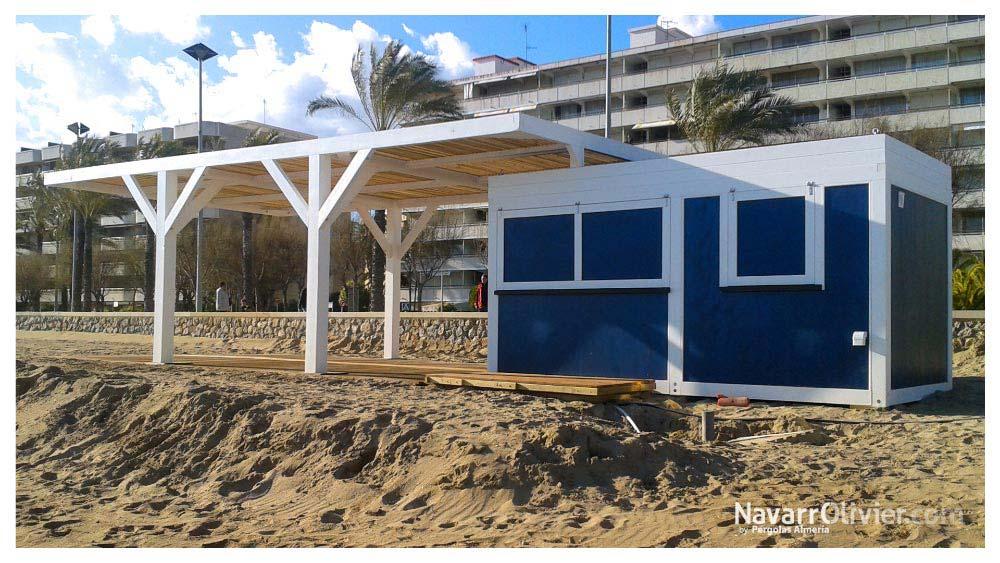 Kioscos Y Pequeños Chiringuitos Modulares Casetas De Madera